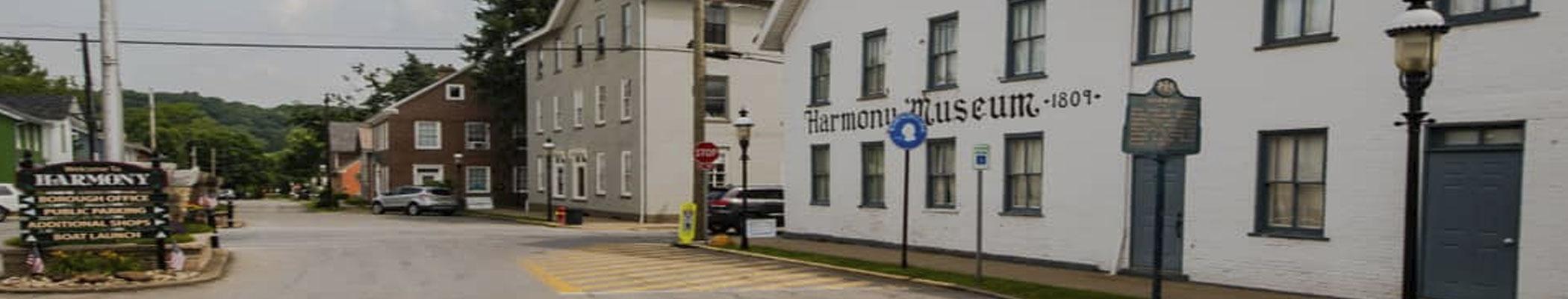 Harmony Museum banner