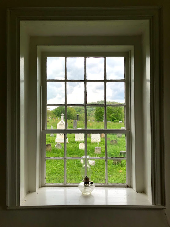 Mennonite Meeting House Window