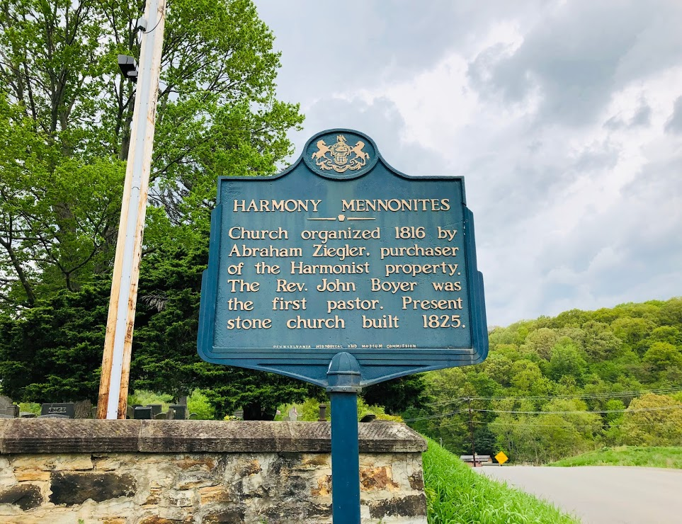 Mennonite Meeting House Sign