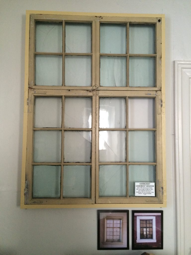 Original Harmony Museum Window