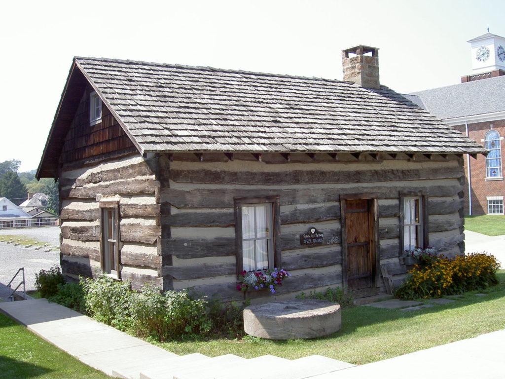 Ziegler Log Cabin