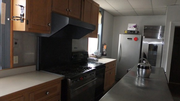 Stewart Hall Kitchen