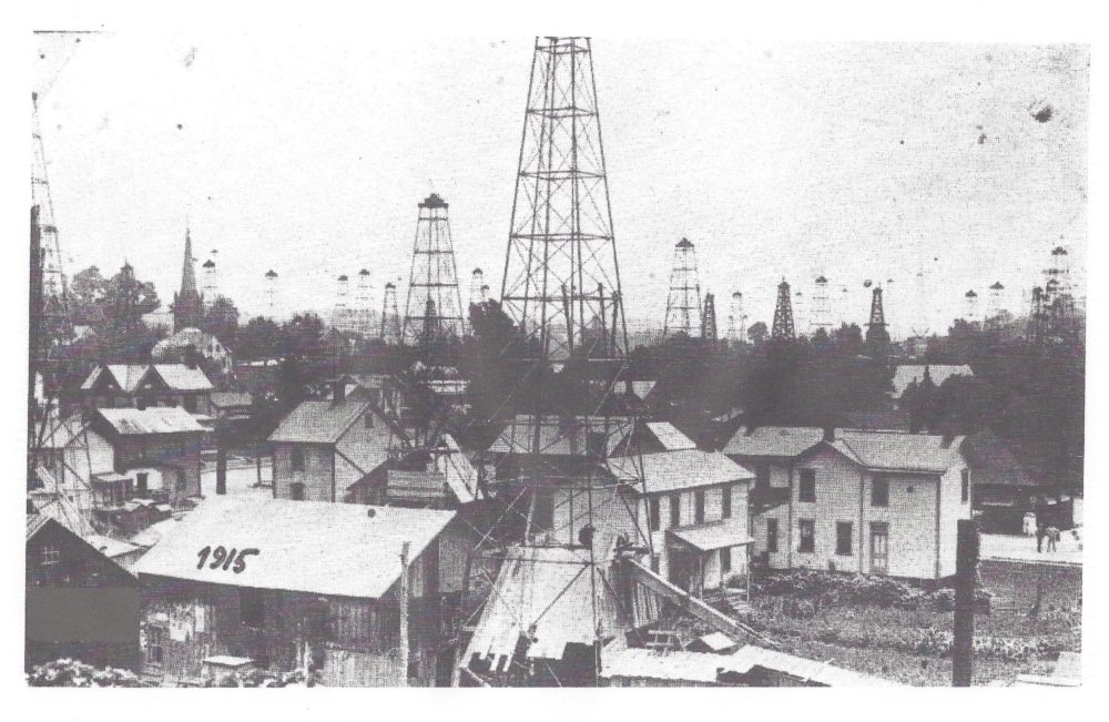 Area Memories Oil Derricks Hint Photo