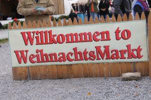 Christmas Market - Welcome